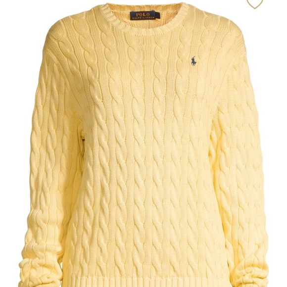 info for uk availability 100% quality Polo Ralph Lauren Cable-Knit Sweater